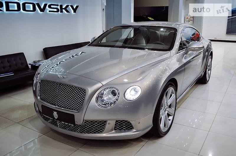 Bentley Continental GT 2011 года