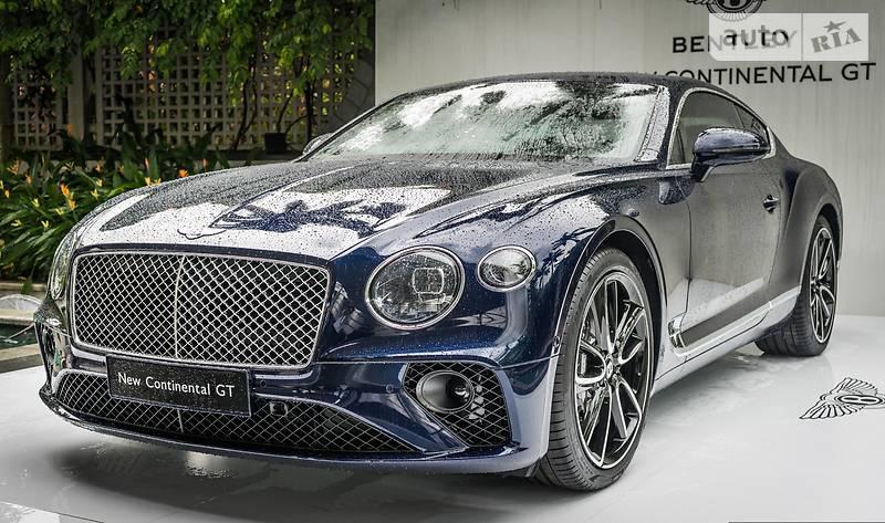 Bentley Continental GT 2017 года