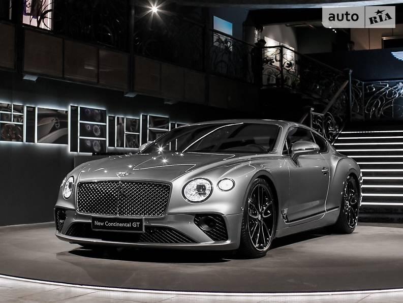 Bentley Continental GT 2018 года
