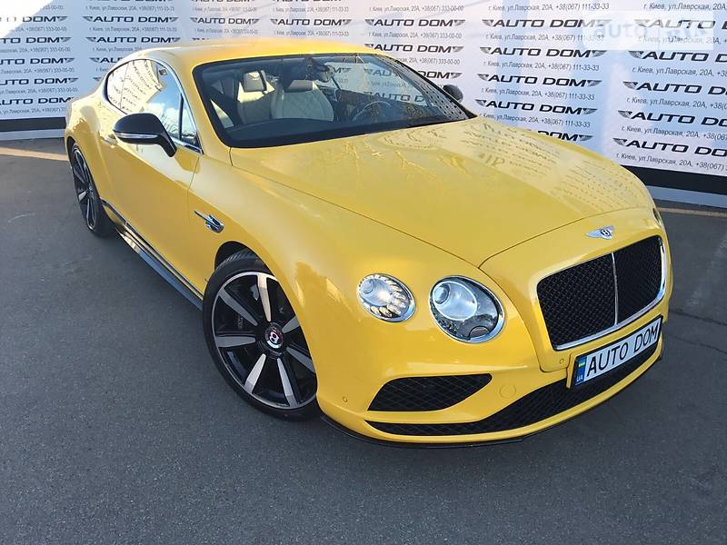 Bentley Continental 2017 року
