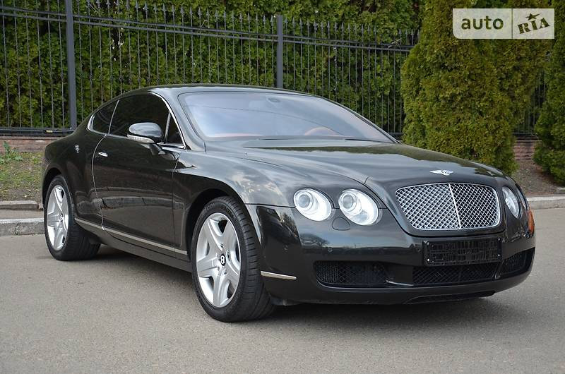 Bentley Continental 2005 року