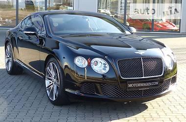 Bentley Continental GT Speed Mulinner 2014