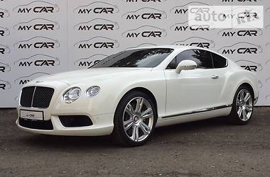 Bentley Continental GT V8 S Mulliner 2014