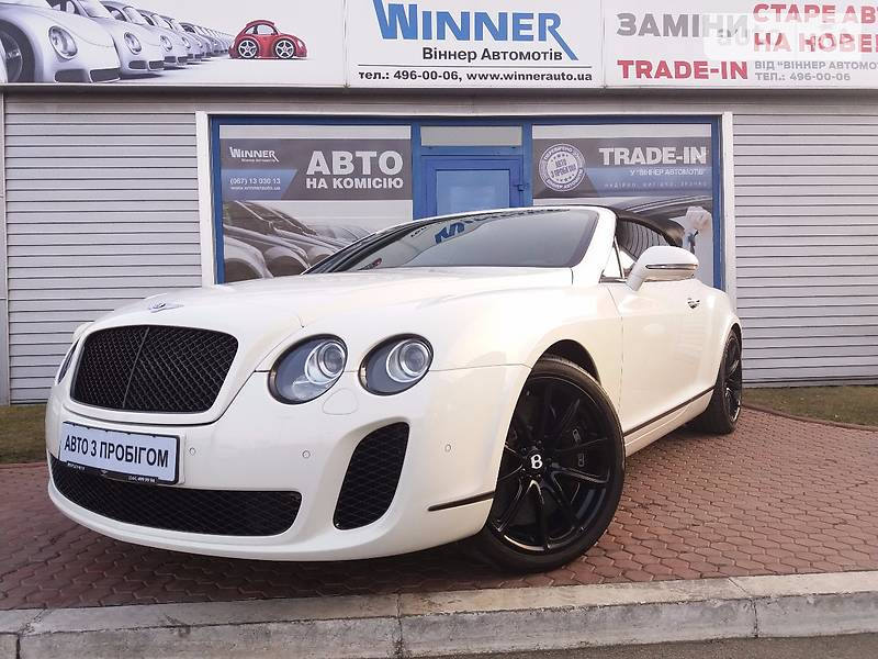 Bentley Continental 2011 года