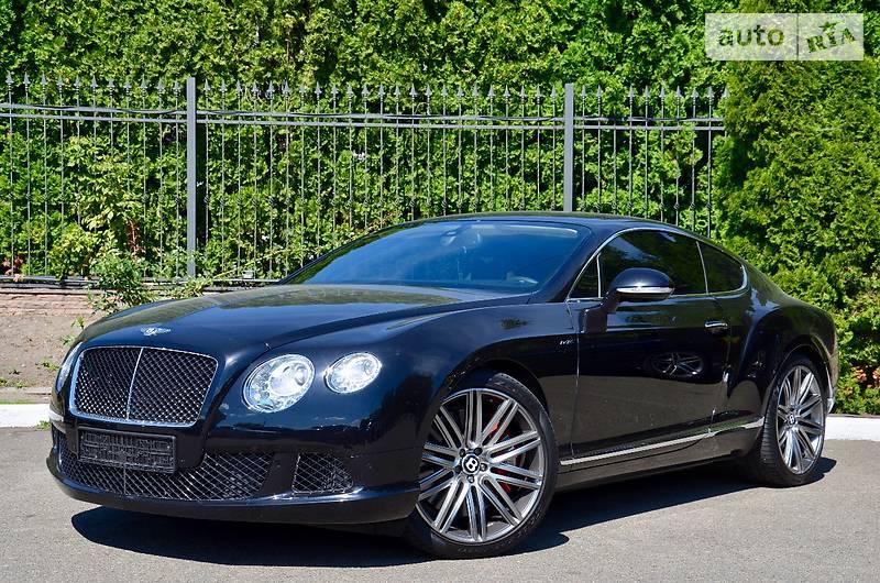 Bentley Continental 2015 года