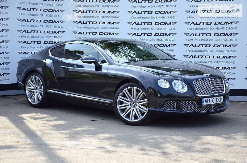 Bentley Continental 2012 года