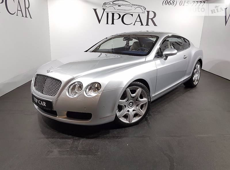 Bentley Continental 2007 года