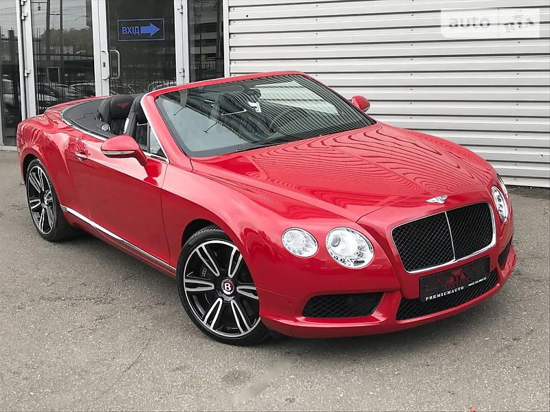Bentley Continental 2013 года