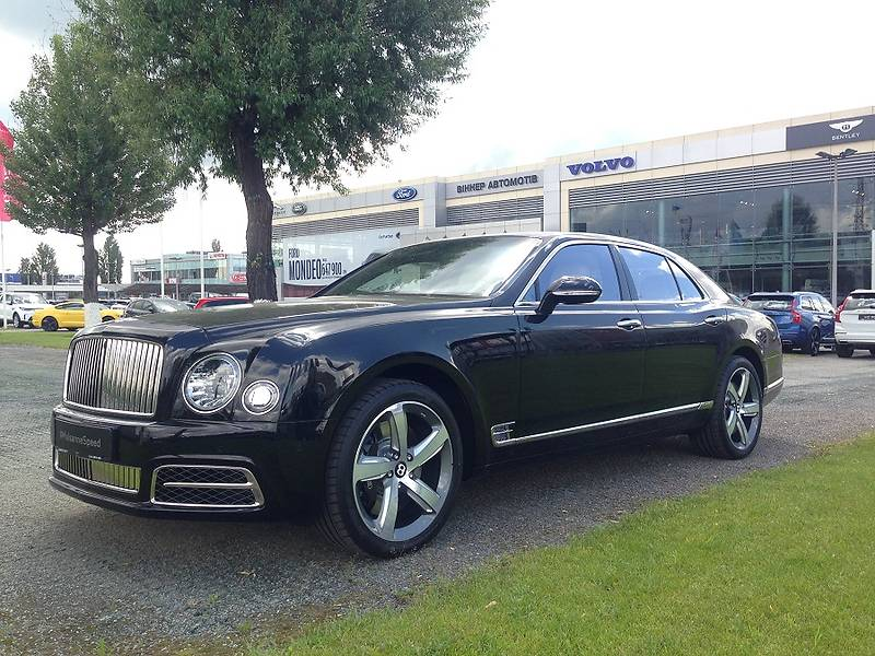 Bentley Mulsanne 2017 года