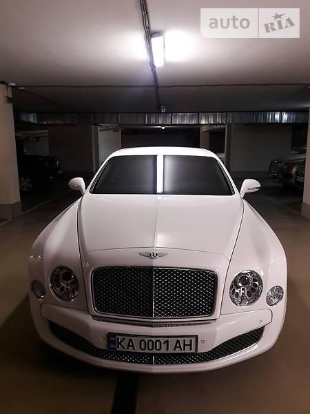 Bentley Mulsanne 2013 года