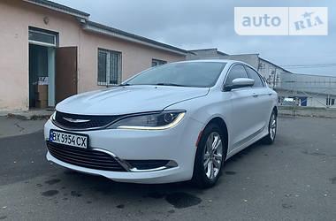 Цены Chrysler 200 Бензин