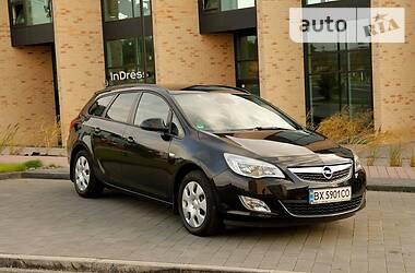 Цены Opel Astra J Бензин