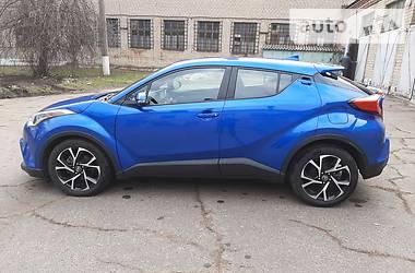 Цены Toyota C-HR Бензин