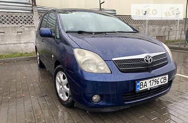 Ціни Toyota Corolla Verso Бензин