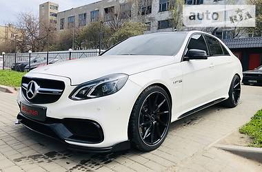 Цены Mercedes-Benz E 63 AMG Бензин