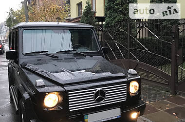 Цены Mercedes-Benz G 500 Бензин