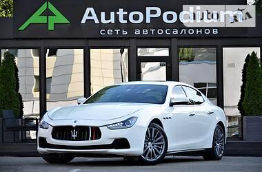 Ціни Maserati Ghibli Бензин