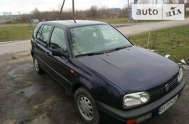 Цены Volkswagen Golf III Бензин