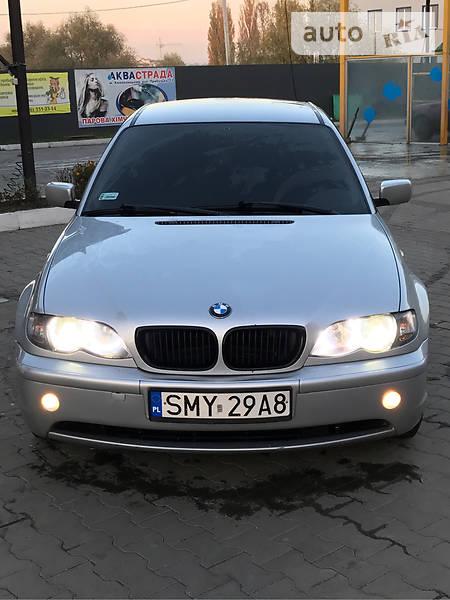 BMW 3 2001 року