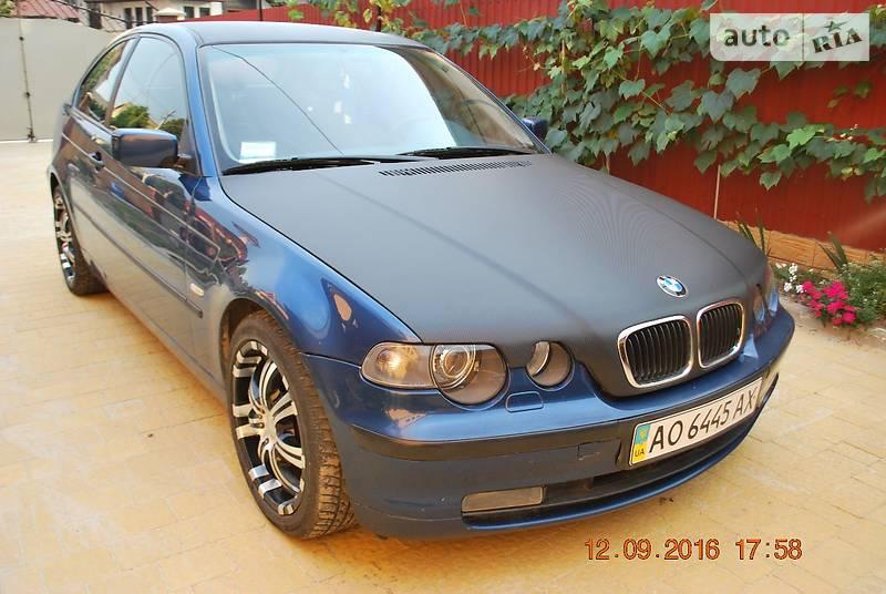 BMW 3 2002 года