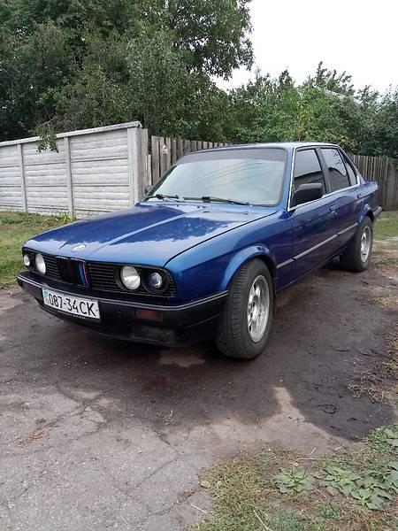 BMW 3 1986 року
