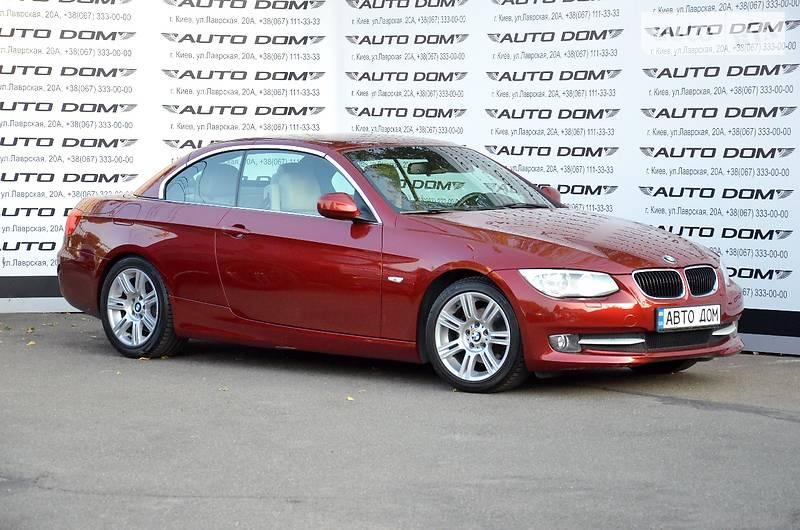 BMW 3 2011 года