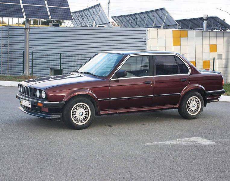BMW 3 1986 года