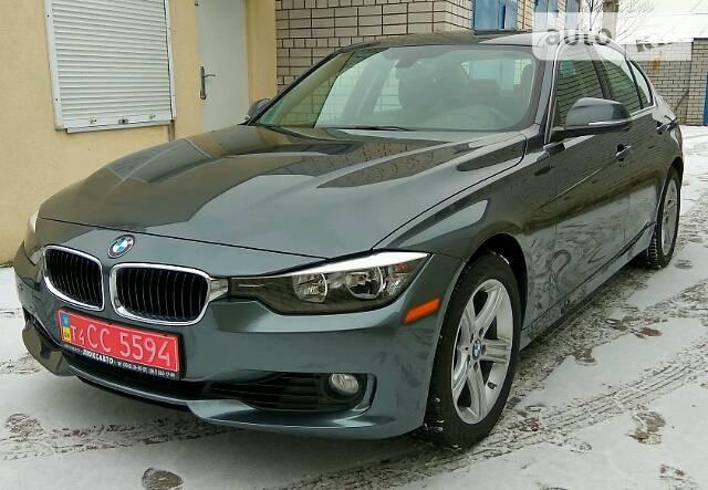 BMW 3 2015 года