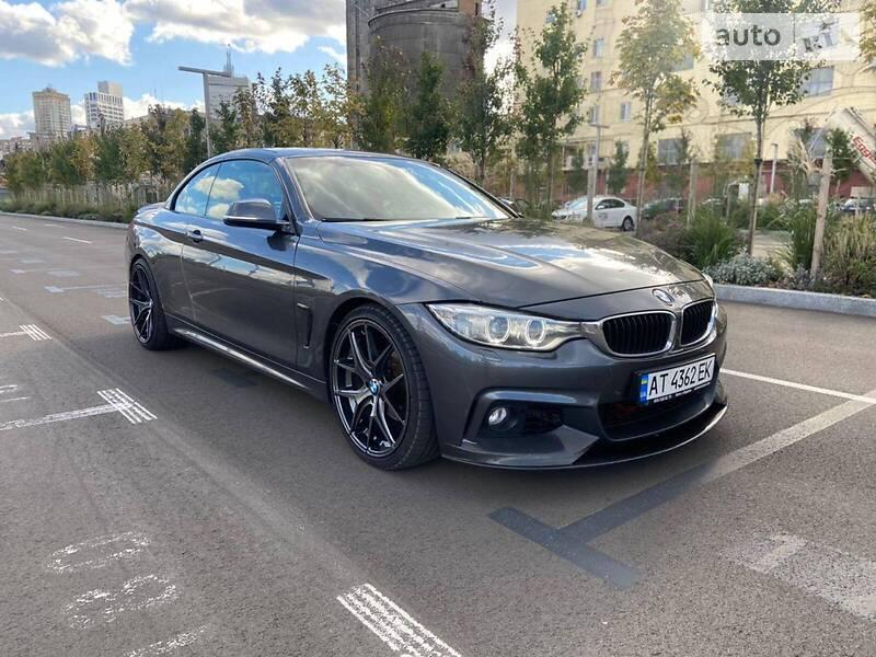 Кабриолет BMW 420