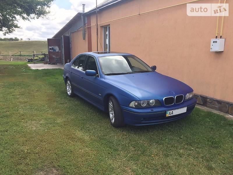 BMW 5 2002 года