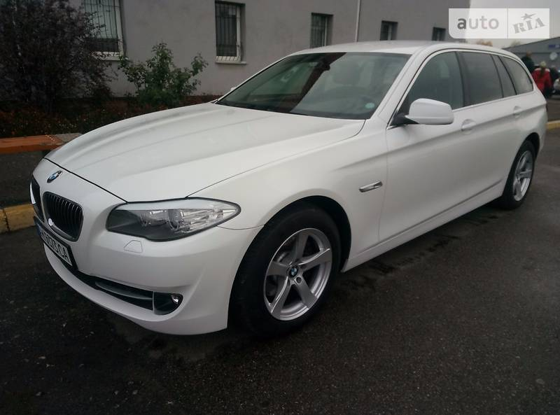 BMW 5 2012 года