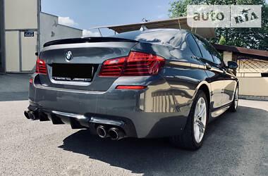 BMW 520 M5 performance  2015