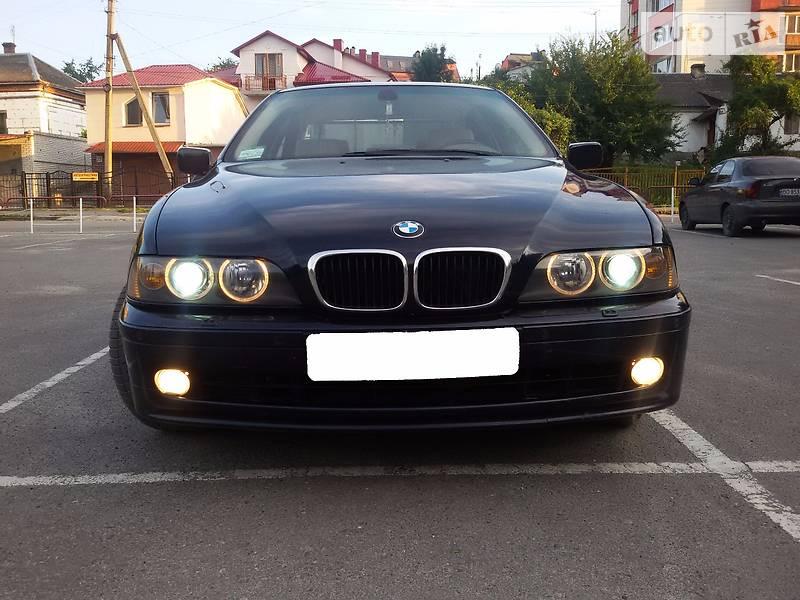 BMW 5 2001 года