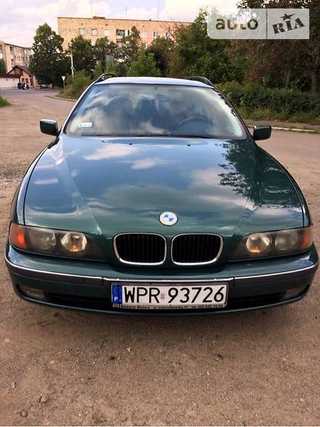 BMW 5 1997 года