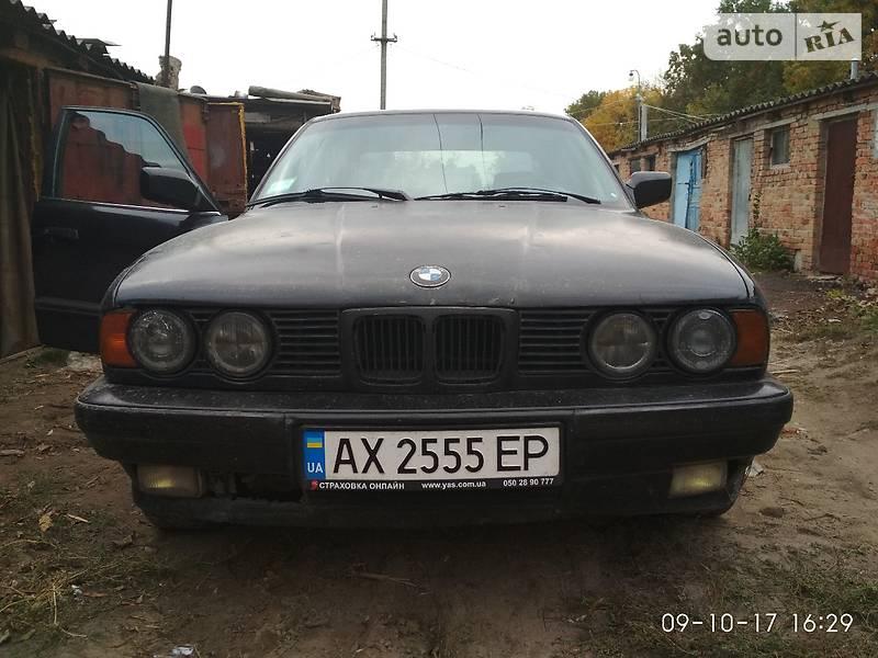 BMW 5 1989 года