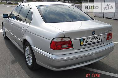 BMW 530 EDITION EXCLUSIVE 2002