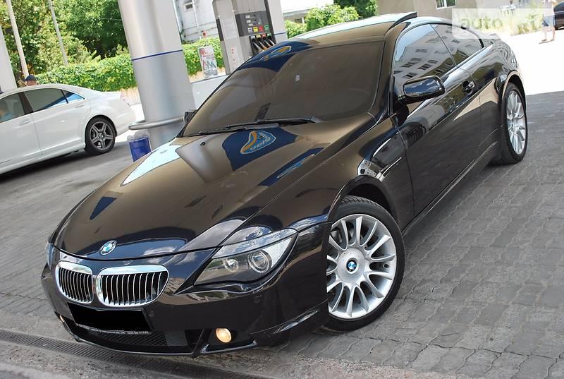 BMW 6 2007 года