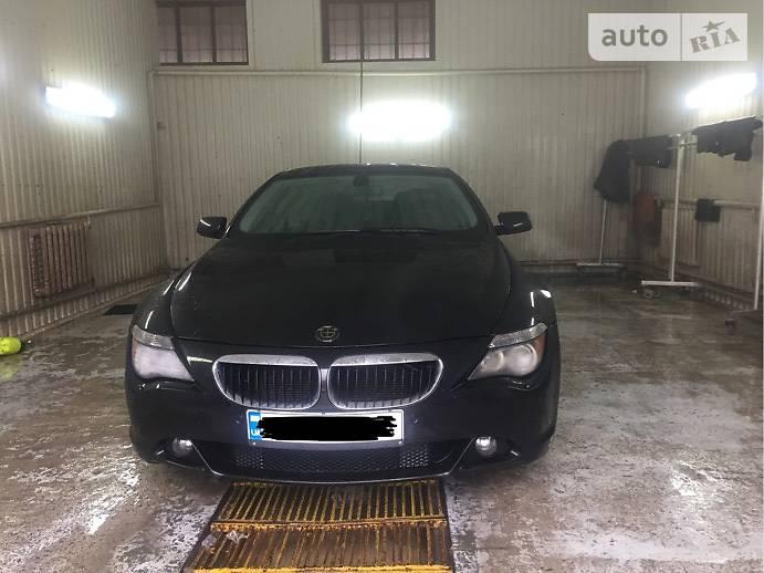 BMW 6 2006 года
