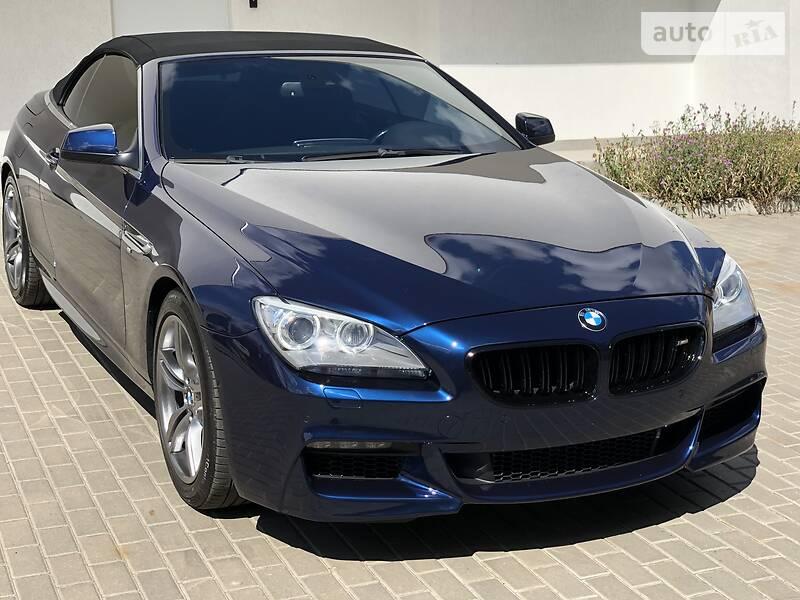 Кабриолет BMW 650