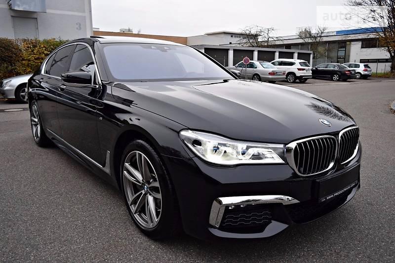 BMW 7 2016 года