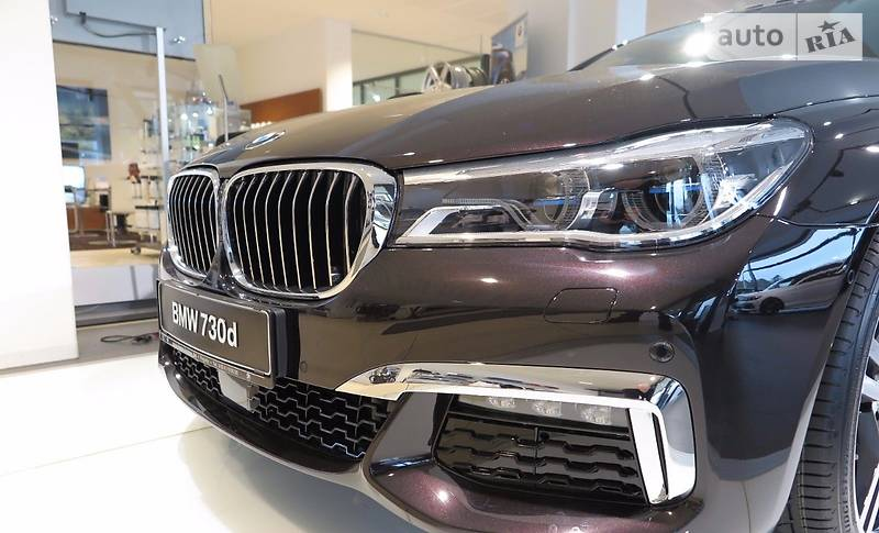 BMW 7 2017 года