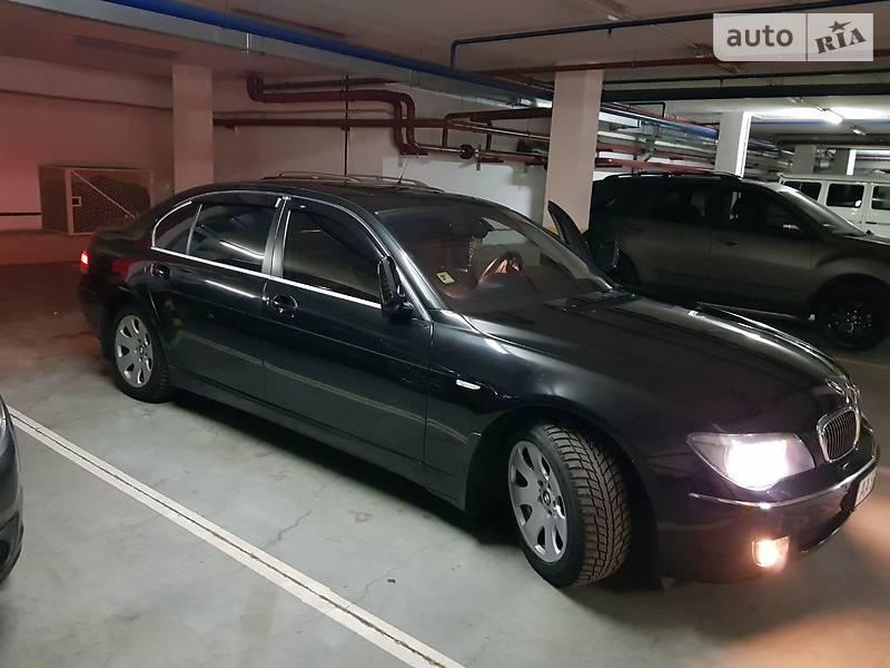 BMW 7 2007 року