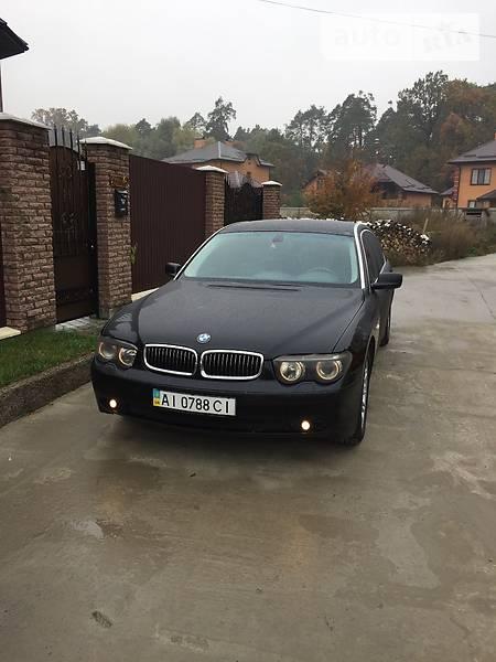 BMW 7 2004 года