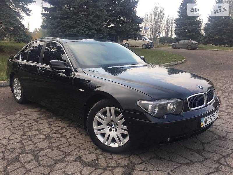 BMW 7 2003 года