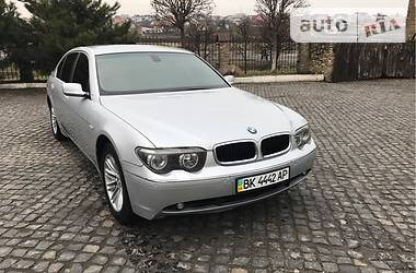 BMW 735 LONG PRESIDENT IDEAL 2004