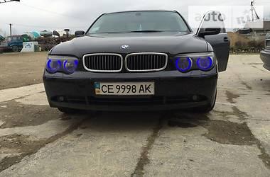 BMW 740  2002