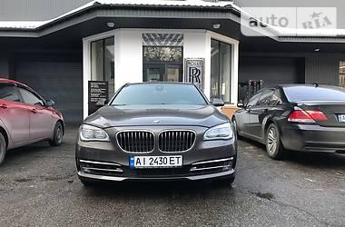 BMW 740 xdrive 2014