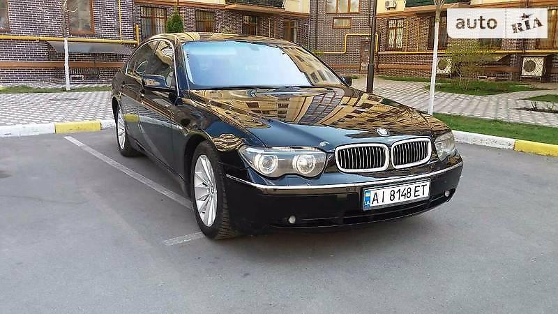 BMW 7 2002 года