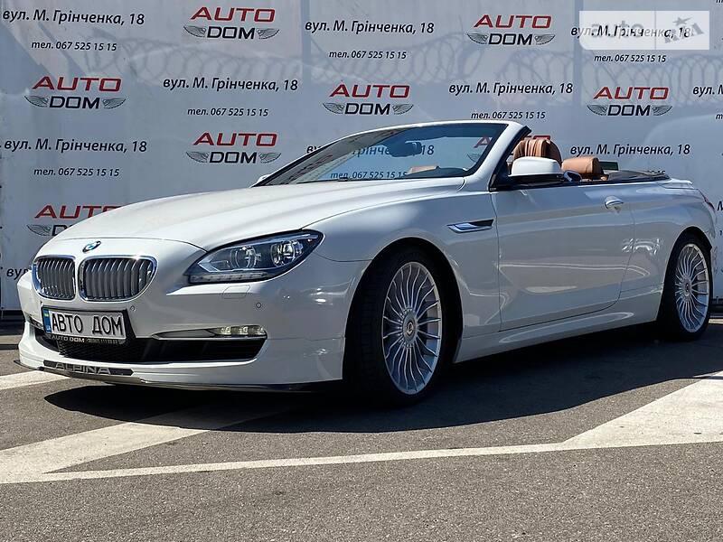 Кабриолет BMW Alpina