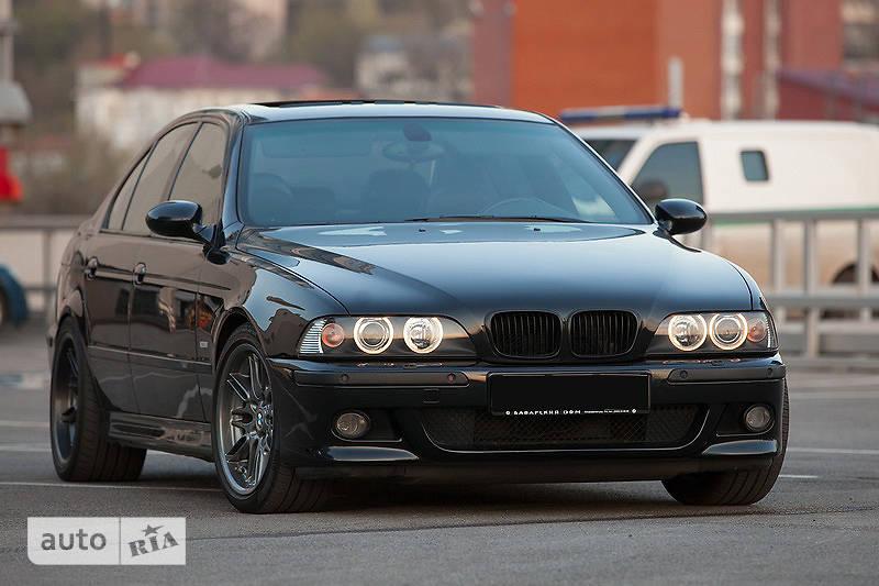 BMW М5 2001 года выпуска, цвет Черный, двигатель Бензин, объем двигателя 5.00, пробег 1 тыс. км. BMW M5.